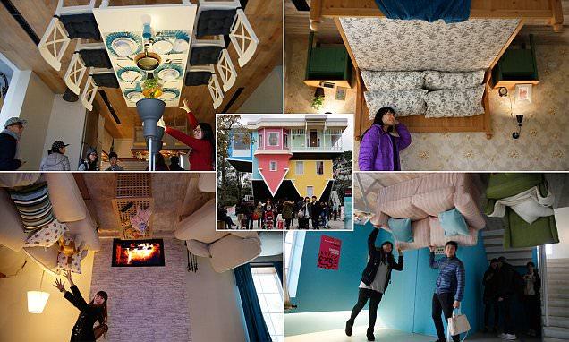 """Ngôi nhà """"chồng cây chuối"""" độc đáo tại Đài Loan."""