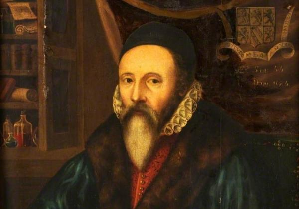 Chân dung nhà thông thái John Dee.