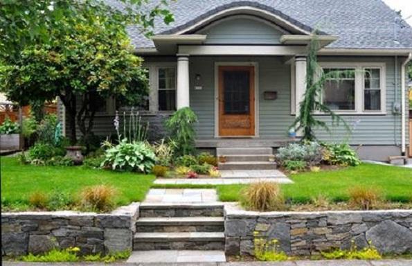 Trồng cây xanh mang lại nguồn năng lượng cho ngôi nhà. (Ảnh: Internet)