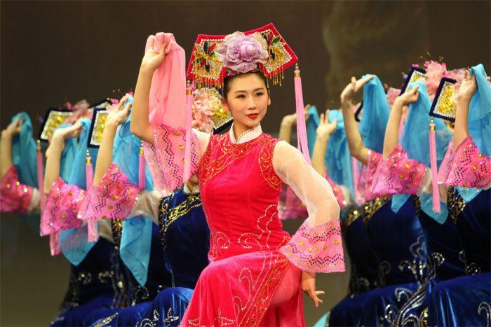 Michelle Ren, vũ công của Đoàn Shen Yun. (Ảnh: Shenyun)