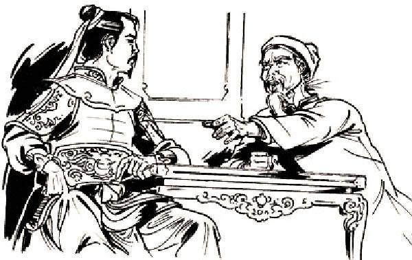 Vua Quang Trung nhiều lần xin ý kiến của cụ La Sơn phu tử. (Ảnh: Internet)