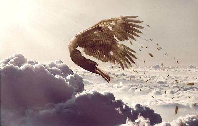 Cậu bé Icarus với ảo tưởng chinh phục bầu trời. (Ảnh: Internet)