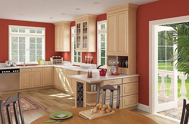 Nếu như bếp nhà bạn nằm ở vị trí Đông Bắc hoặc Tây Nam của Quỷ môn sẽ ảnh hưởng tới sức khỏe nữ chủ nhân. (Ảnh: Internet)