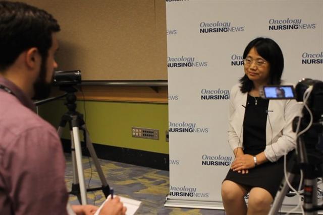 Thạc sĩ Y khoa Đồng Vũ Hồng trong cuộc phỏng vấn với truyền thông quốc tế. (Ảnh: Epoch Times)