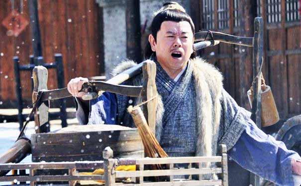 Tạo hình nhân vật Võ Đại Lang trong Tân Thủy Hử. (Ảnh: Internet)