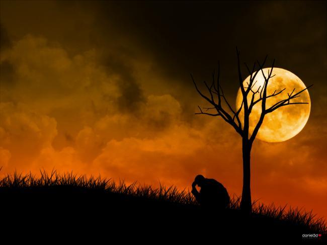 12 hình nền buồn đầy mệt mỏi và tâm trạng
