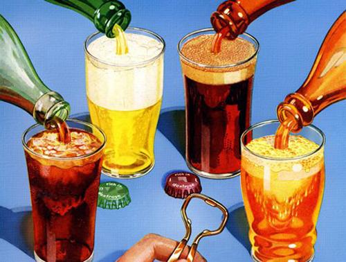 13 con đường đến với tử thần khi uống nhiều nước ngọt. Ảnh minh họa