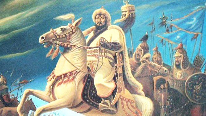 Vị hoàng đế khai quốc của triều Nguyên - Thành Cát Tư Hãn.