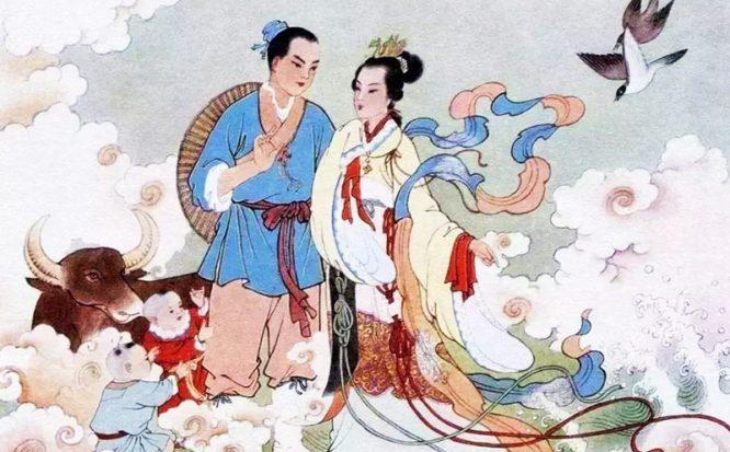 Lễ hội Thất Tịch và chuyện tình tiên phàm Ngưu Lang - Chức Nữ. 1