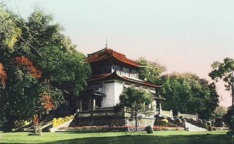 Đền tưởng niệm An Nam thời thuộc địa. (Ảnh: historicvietnam)