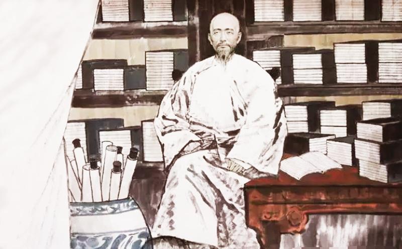 Kỷ Hiểu Lam là một danh sĩ nổi tiếng và quan lại đời nhà Thanh, trong lịch sử Trung Quốc. (Ảnh: NTDTV)
