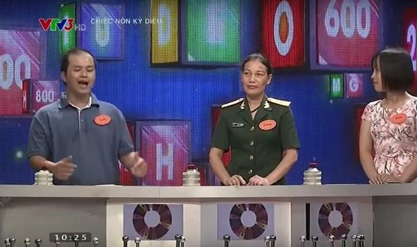 Chàng trai Vũ Nhật Tuấn trong chương trình Chiếc nón kỳ diệu khiến khán giả thích thú