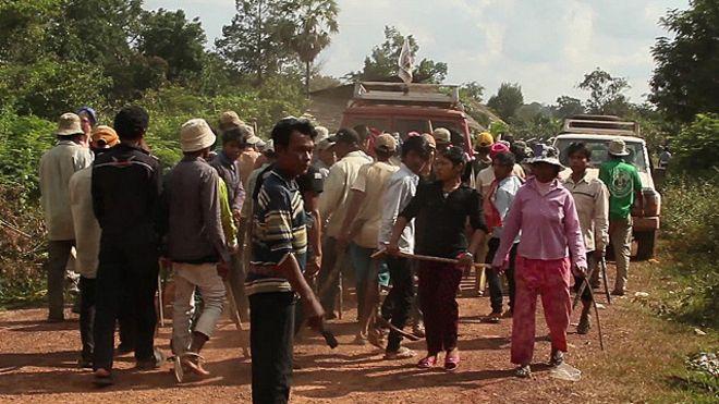 Hoàng Anh Gia Lai bị cáo buộc chiếm dụng đất của dân địa phương Lào