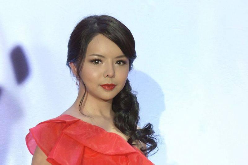 Hình ảnh Anastasia Lin trên thảm đỏ. (Nguồn: facebook cá nhân)