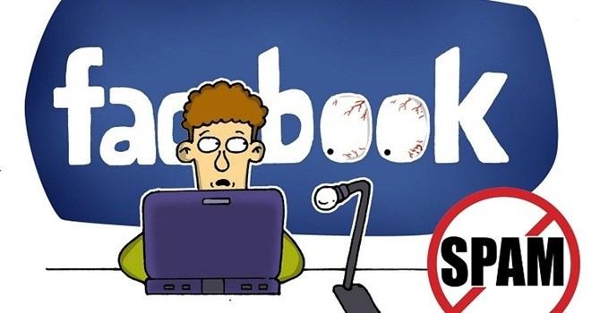 Tin nhắn rác trên Facebook.