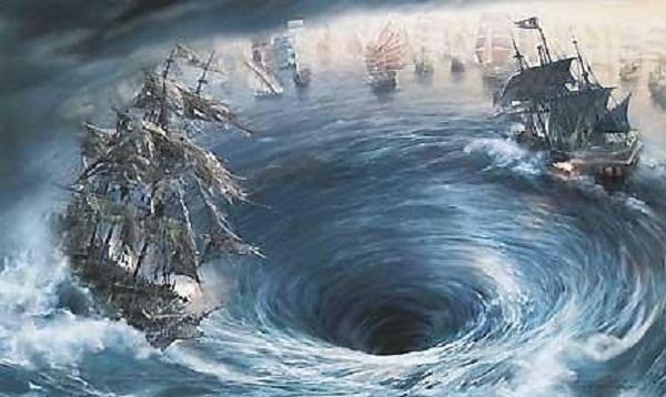 Ảnh minh họa: Vùng tam giác quỷ ở Trung Quốc. (Nguồn internet)
