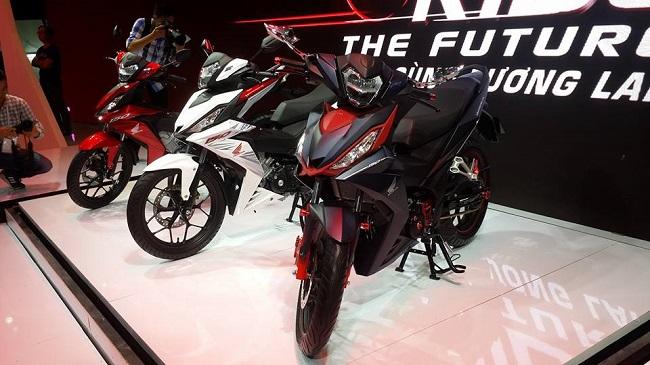 """""""Tân binh"""" Honda Winner, sản phẩm hiếm hoi giảm giá ở thời điểm cận Tết Dương lịch. (Ảnh: Internet)"""