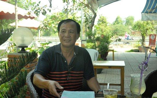 Anh Nguyễn Văn Tấn- chủ quán phở bị khởi tố vì kinh doanh trái phép.