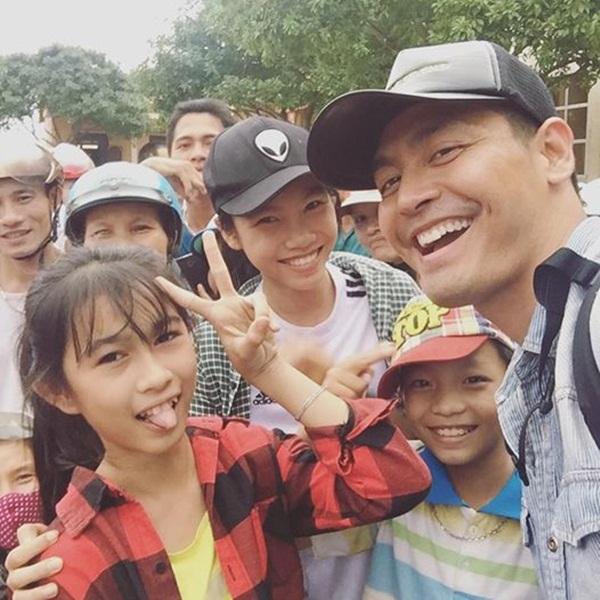 Đây là chiếc mũ Phan Anh đã đội trong chuyến đi từ thiện lần này.