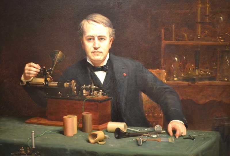 Phát minh 'điện thoại gọi hồn' - Thomas Edison tin vào thế giới tâm linh - ảnh 1