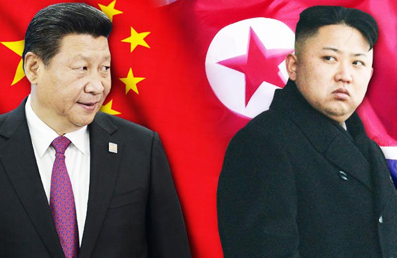 Mối quan hệ giữa Trung Quốc và Triều Tiên đã xuất hiện những rạn nứt. (Ảnh: Dailystar)