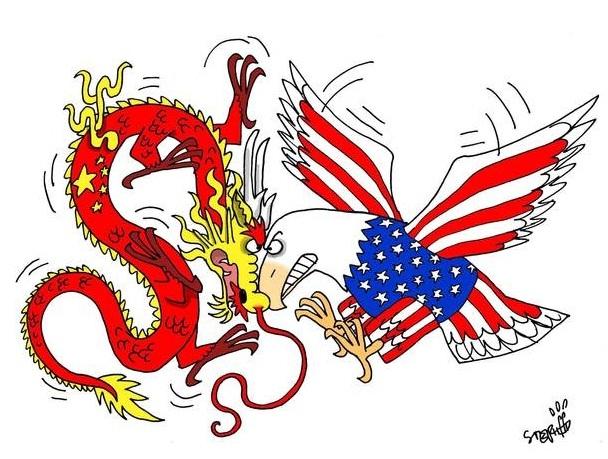 Mỹ và Trung Quốc vẫn luôn là 2 cường quốc đối đầu