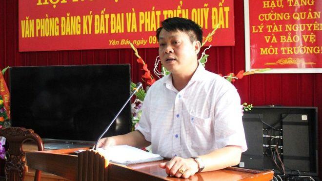 Ông Phạm Sỹ Quý, tân Giám đốc Sở TN-MT Yên Bái Ông Phạm Sỹ Quý, tân Giám đốc Sở TN-MT Yên Bái