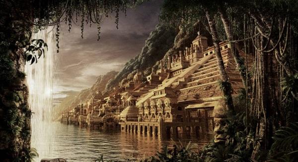 Thành phố bí ẩn chìm sâu dưới đáy biển. Ảnh minh họa