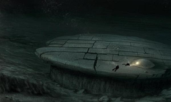 Nhóm thợ lặn nghiên cứu vật thể nghi UFO dưới đáy biển