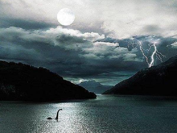 Quái vật hồ Loch Ness. (Ảnh minh họa)