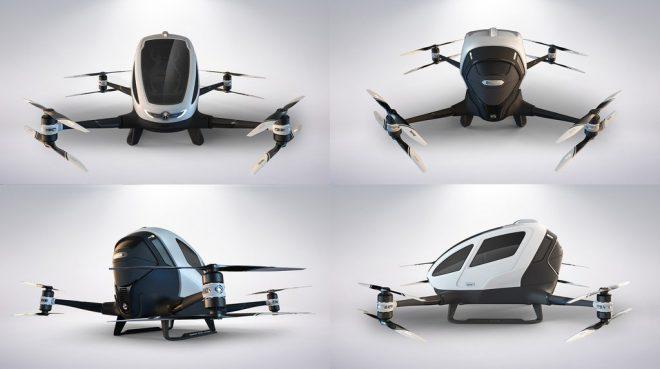 Dubai sắp vận hành taxi bay Trung Quốc sản xuất - H3