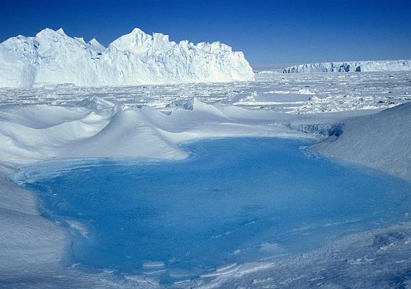 Nam Cực, nơi khí hậu lạnh giá và khắc nghiệt nhất thế giới.