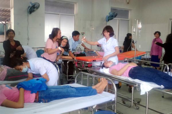 Có thêm 43 công nhân nhập viện.