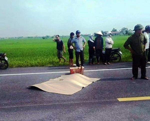 Hiện trường nơi xảy ra vụ tai nạn ngày 16/9.