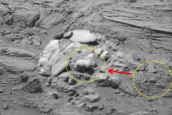 Nghi vấn chiếc giày của người ngoài hành tinh bỏ quên trên Sao Hỏa - H3