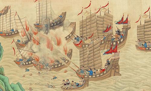 Hình vẽ minh họa đội quân hải tặc cướp bóc trên biển. Ảnh: History.com