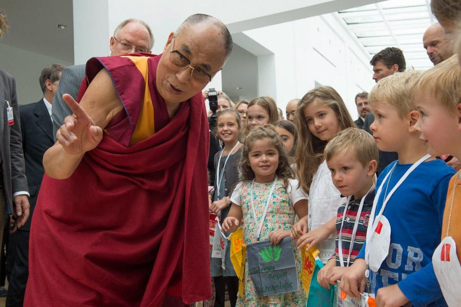 His Holiness the 14th Dalai Lama visiting Germany July 12-14, 2015, PhotoManuelBauer_2015_07_13