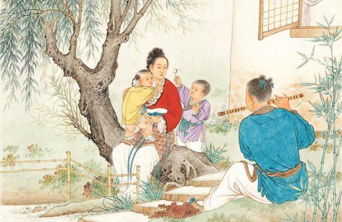 Lễ hội Thất Tịch và chuyện tình tiên phàm Ngưu Lang - Chức Nữ. 3