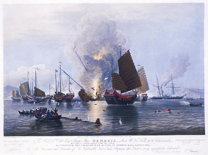 Hải quân nhà Thanh bất lực trước sức mạnh của hải tặc