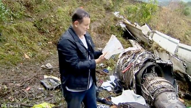 Nhờ đức tin vào Chúa, cầu thủ Brazil đã may mắn sống sót trong vụ rơi máy bay?.3