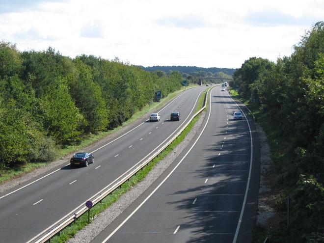Nếu cao tốc Bắc - Nam hoàn thành, cả nước sẽ có 2.600 km đường cao tốc.(Ảnh: Internet)