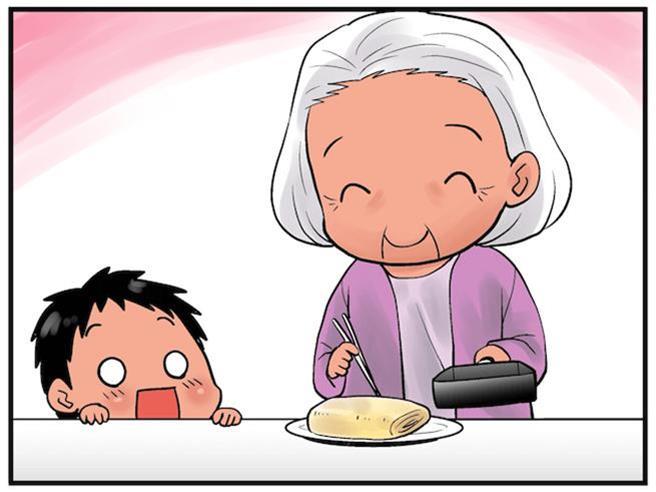 Không phải là cưng chiều, mà là tình yêu thương vô tận. (Tay nghề nấu ăn của bà rất lợi hại)