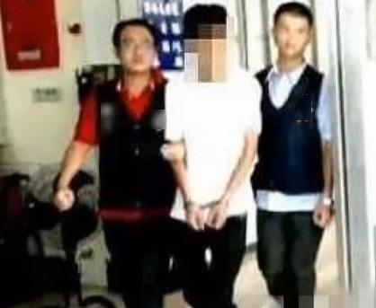 Vương Hân Dật bị bắt vào năm 2012 sau khi đánh trọng thương người khác.