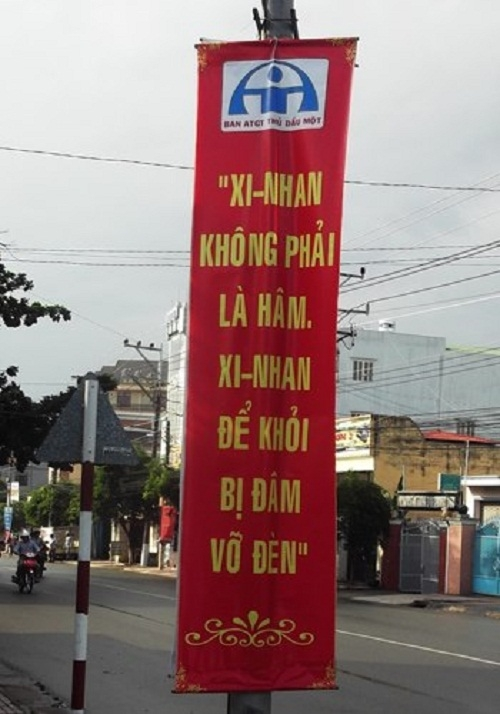 Những câu khẩu hiệu siêu hài hước chỉ có ở Việt Nam.5