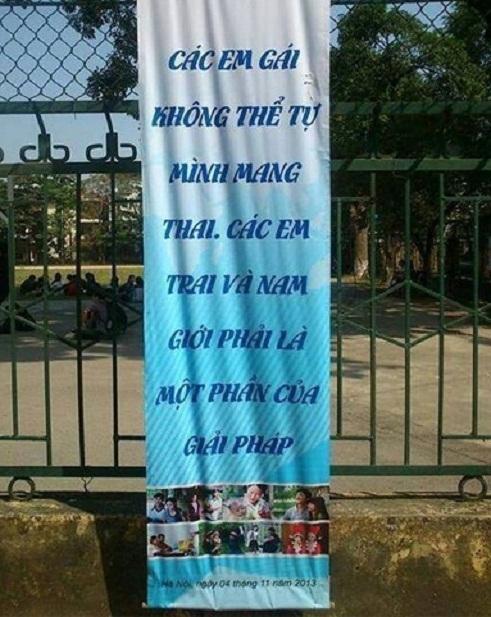 Những câu khẩu hiệu siêu hài hước chỉ có ở Việt Nam.6