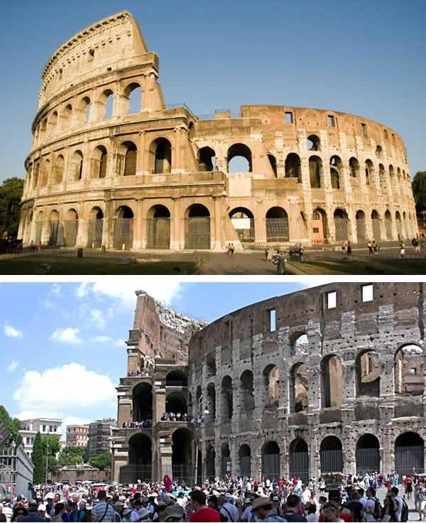 Không lúc nào Đấu trường La Mã được một phút nghỉ ngơi. (Ảnh: 9GAG).