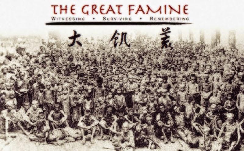 Nạn đói lớn tại Trung Quốc những năm 1942 - 1962. (Ảnh: Internet)