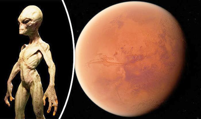Sự sống trên Trái đất có thể bắt nguồn từ sao Hỏa. (Ảnh: Internet)