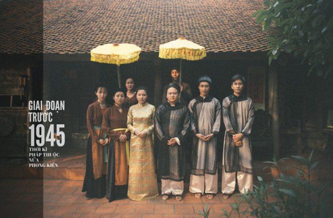 Chụp một lần, cặp đôi tái hiện 100 năm lịch sử đám cưới Việt Nam.1