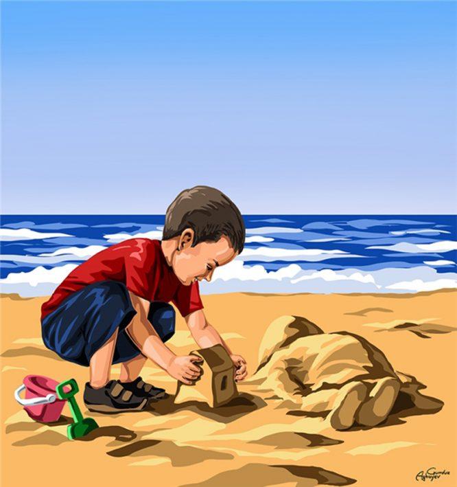 Ở một thế giới khác - Bộ ảnh trả lại tuổi thơ bị tước đoạt cho những đứa trẻ.7
